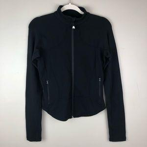 Lululemon Black Zip Workout Jacket Size 8